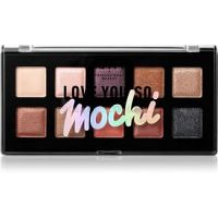 NYX Professional Makeup Love You So Mochi paletka očných tieňov odtieň 02 Sleek And Chic 13 g