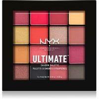 NYX Professional Makeup Ultimate Shadow paletka očných tieňov odtieň Phoenix 16 x 0,83 g