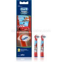 Oral B Stages Power EB10 Cars náhradné hlavice na zubnú kefku 2 ks Extra Soft