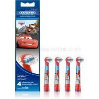 Oral B Stages Power EB10 Cars náhradné hlavice na zubnú kefku 4 ks Extra Soft