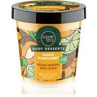 Organic Shop Body Desserts Mango Sugar Sorbet obnovujúci cukrový peeling na telo 450 ml