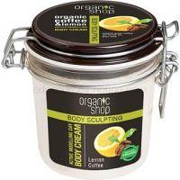 Organic Shop Body Sculpting Lemon Coffee jemný telový krém s remodelujúcim účinkom  350 ml