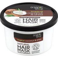 Organic Shop Natural Coconut & Shea intenzívna vlasová maska s hydratačným účinkom 250 ml