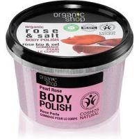Organic Shop Organic Rose & Salt ľahký telový balzam 250 ml