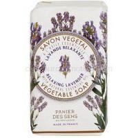 Panier des Sens Lavender relaxačné rastlinné mydlo 150 g