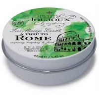 Petits JouJoux A Trip to Rome masážna sviečka 33 g