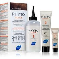 Phyto Color farba na vlasy bez amoniaku odtieň 6.77 Light Brown/Capuccino