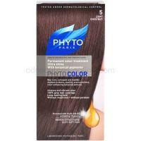 Phyto Color farba na vlasy odtieň 5 Light Chestnut