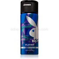 Playboy Generation deospray pre mužov 150 ml