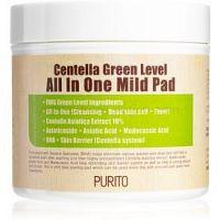 Purito Centella Green Level peelingové pleťové tampóny 70 ks