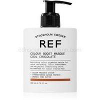 REF Colour Boost Masque jemná vyživujúca maska bez permanentných farebných pigmentov COOL CHOCOLATE 200 ml