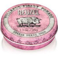 Reuzel Hollands Finest Pomade Grease pomáda na vlasy silné spevnenie 35 g