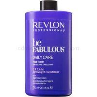 Revlon Professional Be Fabulous Daily Care kondicionér pre objem jemných vlasov 750 ml