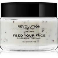Revolution Skincare Jake-Jamie Dragon Fruit upokojujúca pleťová maska 50 ml