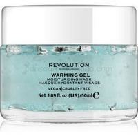 Revolution Skincare Warming Gel hydratačná pleťová maska 50 ml