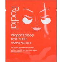 Rodial Dragon's Blood očná maska proti opuchom a tmavým kruhom 8 ks
