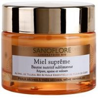 Sanoflore Miel Supreme Visage vyživujúci balzám pre suchú až veľmi suchú pleť 50 ml