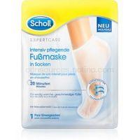 Scholl Expert Care hydratačná a vyživujúca maska na nohy