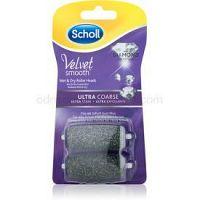Scholl Velvet Smooth náhradná hlavica do elektrického pilníka na chodidlá ultra drsná 2 ks