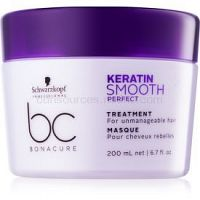 Schwarzkopf Professional BC Bonacure Smooth Perfect maska pre nepoddajné a krepovité vlasy 200 ml