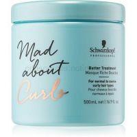 Schwarzkopf Professional Mad About Curls hĺbkovo vyživujúca maska pre kučeravé vlasy 500 ml