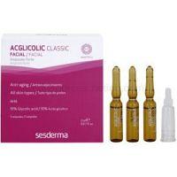 Sesderma Acglicolic Classic Facial sérum pre komplexnú starostlivosť proti vráskam 5 x 2 ml