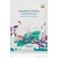 Shangpree Marine Jewel rozjasňujúca plátienková maska 30 ml