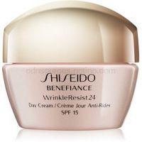 Shiseido Benefiance WrinkleResist24 Day Cream SPF15 denný protivráskový krém SPF 15  50 ml