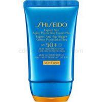 Shiseido Sun Care Expert Sun Aging Protection Cream WetForce opaľovací krém na tvár SPF 50+ 50 ml