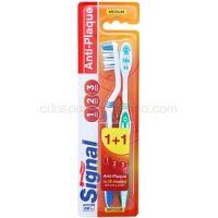 Signal Anti-Plaque zubné kefky medium 2 ks 2 ks