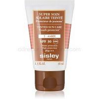 Sisley Sun ochranný tónovací krém na tvár SPF 30 odtieň 3 Amber  40 ml