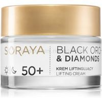 Soraya Black Orchid & Diamonds liftingový krém proti vráskam 50+ 50 ml