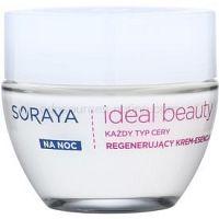 Soraya Ideal Beauty regeneračný nočný krém pre všetky typy pleti 50 ml