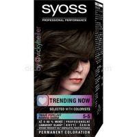 Syoss Permanent Coloration permanentná farba na vlasy odtieň 4-15 Dusty Chrome