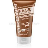 Tannymaxx Brown Face opaľovací krém do solária s bronzerom na predĺženie doby opálenia  50 ml