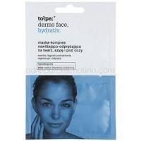 Tołpa Dermo Face Hydrativ intenzívna hydratačná maska na tvár a očné okolie 2 x 6 ml