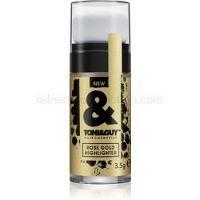 TONI&GUY Rose Gold Highlighter trblietky na vlasy   3,5 g