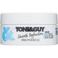 TONI&GUY Smooth Definition uhladzujúca maska s keratínom 200 ml