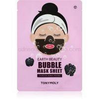 TONYMOLY Earth Beauty Bubble čistiaca pleťová maska 1 ks
