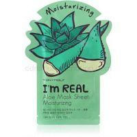 TONYMOLY I'm REAL Aloe hydratačná plátienková maska 1 ks