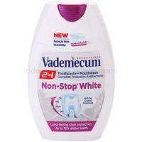 Vademecum 2 in1 Non-Stop White zubná pasta + ústna voda v jednom  75 ml