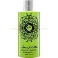 Vivian Gray Aroma Selection Lemon & Green Tea sprchový a kúpeľový gél 400 ml
