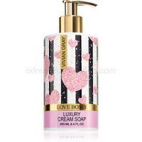 Vivian Gray Love Bomb krémové tekuté mydlo 250 ml