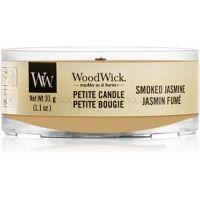 Woodwick Smoked Jasmine votívna sviečka s dreveným knotom 31 g
