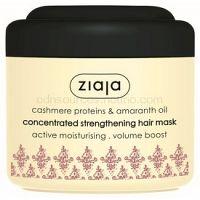 Ziaja Cashmere posilujúca maska pre suché, namáhané vlasy 200 ml
