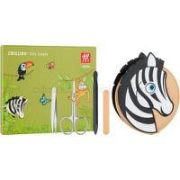Zwilling Kids Jungle set na manikúru pre deti Zebra 4 ks