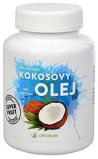 Allnature Kokosový olej 60 kapsúl