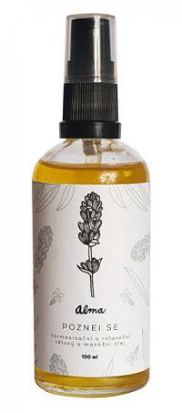 Alma-natural cosmetics Harmonizačná telový olej 100 ml - Poznaj sa