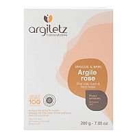 Argiletz Íl ružový ultra ventilované maska & kúpeľ 200 g