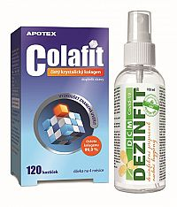 Aurovitas COLAFIT 120 kociek + dezinfekcia 100 ml